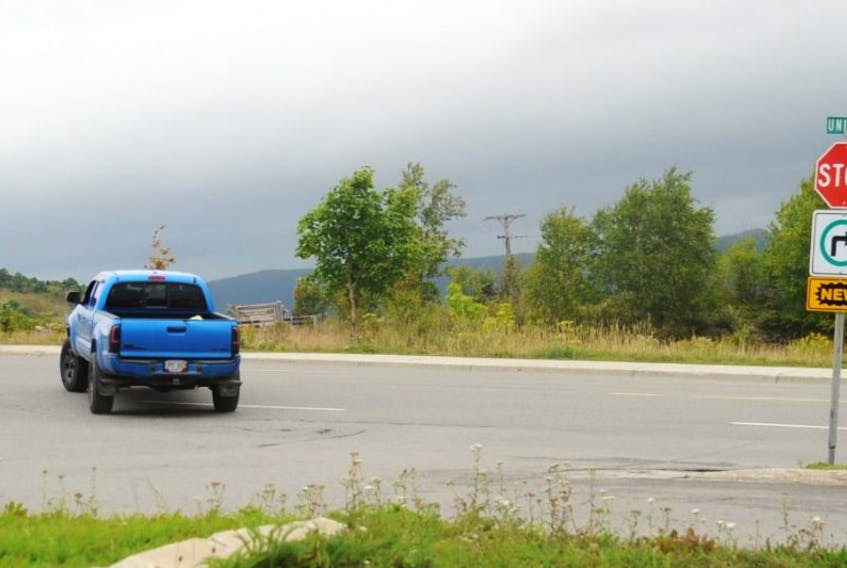 The new right-turn-only sign erected at the intersection of Union Street and O'Connell Drive in Corner Brook either isn't being seen or just isn't being heeded by many drivers. In less than 10 minutes Tuesday afternoon, The Western Star observed five vehicles, including this truck, make the now-illegal left turn onto O'Connell Drive.