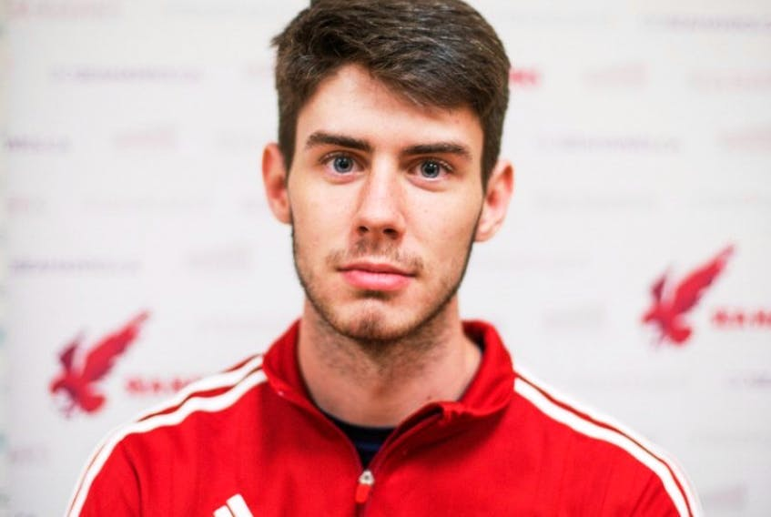 Chris Dobbin was pleased with how he performed in the first half of his rookie campaign with the MUN Sea-Hawks, but he knows he must beef up if he wants to compete with some of the big boys in the Atlantic University Sport men's basketball setup.