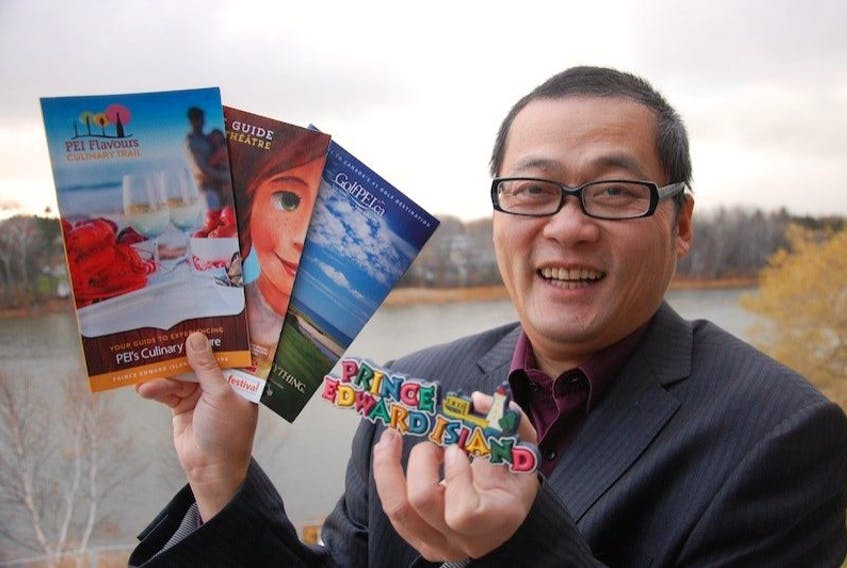 """<p><span class=""""BodyText"""">Xiang Tan, chief operator of Singsung Media Technology in Charlottetown, started a business earlier this year to draw Chinese tourists to the province.</span></p>"""